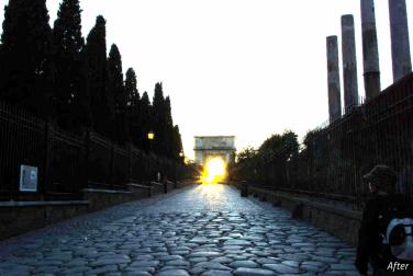 street-sunset-after