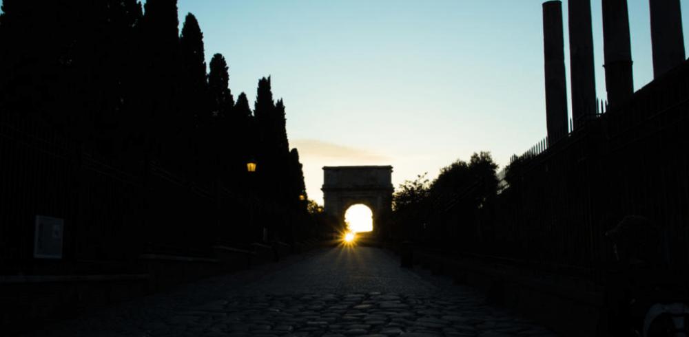 street-sunset-before